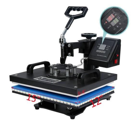 10 in 1 Combo Heat Press Machine Sublimation Heat Transfer Machine