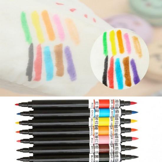 10 Colours Edible Pigment Pen Food Color Brush
