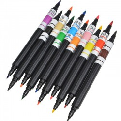 10 Colours Edible Pigment Pen Food Color Brush