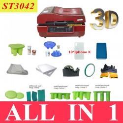 Full Package 3D Vacuum Sublimation Heat Press Printer