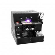 Spot UV Printer A4 Size UV Printer Cylinder Printer Bottle Printer