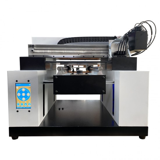 UV Printer NEW A3 Size 6 Color UV Embossed Image Printer Machine White Ink UV Printer Flatbed Printer