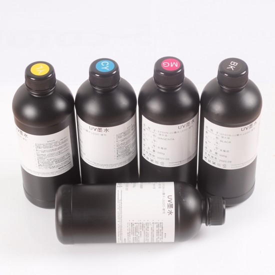 500ML/CMYKWW LED UV Ink
